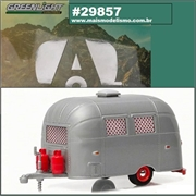 Trailer AIRSTREAM 16 Bambi - Greenlight - 1/64