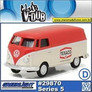 1975 Volkswagen Kombi TEXACO Oil - Greenlight V-DUB - 1/64