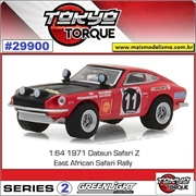 1971 - Datsun 240Z Rally n.11 - Greenlight - 1/64
