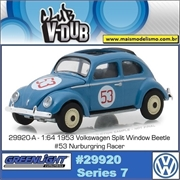 1953 Volkswagen Fusca Spit Window n.53 - Greenlight V-DUB - 1/64
