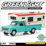 1965 - Dodge D100 e Winnebago Camper - Greenlight - 1/64