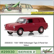 1968 - Volkswagen Type 3 Panel Van - Greenlight - 1/64