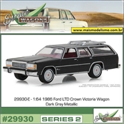 1986 - Ford LTD Crown Victoria Wagon - Greenlight - 1/64