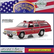 1990 - Ford LTD Crown Victoria Bombeiro - Greenlight Exclusive - 1/64