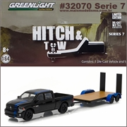 2015 RAM 1500 MOPAR Edition and Trailer - Greenlight Hitch and Tow - 1/64