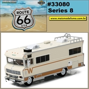 1973 - Winnebago Chieftain ROUTE 66 - Greenlight - 1/64