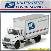USPS International DuraStar Box Truck - Greenlight - 1/64