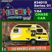 2016 - WINNEBAGO Winnie Drop 1710 CHASE - Greenlight - 1/64