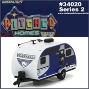 2016 - WINNEBAGO Winnie Drop 1710 Trailer - Greenlight - 1/64