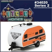 2017 - WINNEBAGO Winnie Drop 1710 Trailer - Greenlight - 1/64