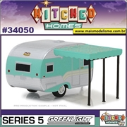 1959 - Catolac DeVille Travel Trailer - Greenlight - 1/64
