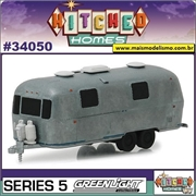 1971 - Airstream Land Yacht Safari Trailer - Greenlight - 1/64