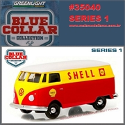Volkswagen KOMBI Panel Van SHELL OIL - Greenlight - 1/64