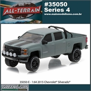 2015 - Chevrolet Silverado 1500 - Greenlight - 1/64