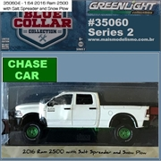 2016 - Dodge RAM 2500 Snow Plow CHASE - Greenlight - 1/64
