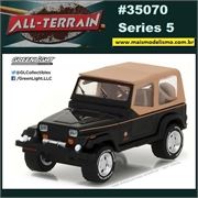 1994 - Jeep Wrangler Sahara - Greenlight - 1/64