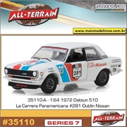 1972 - Datsun 510 Rally - Greenlight - 1/64