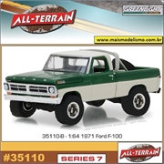 1971 - Ford F-100 Pickup - Greenlight - 1/64