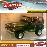 1980 - Jeep CJ-7 Laredo - Greenlight - 1/64