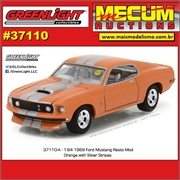 1969 - Ford Mustang - Greenlight Mecum Auctions - 1/64