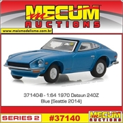 1970 - Datsun 240Z Azul - Greenlight Mecum Auctions - 1/64