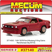 1978 - Ford Mustang II King Cobra - Greenlight Mecum Auctions - 1/64