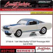 1966 - Shelby GT-350 Prototype 001 - Greenlight Barrett-Jackson - 1/64