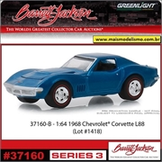 1968 - Chevrolet Corvette L88 - Greenlight Barrett-Jackson - 1/64