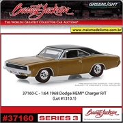 1968 - Dodge Charger R/T Hemi - Greenlight Barrett-Jackson - 1/64