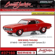 1969 - Chevrolet Camaro ZL1 - Greenlight Barrett-Jackson - 1/64
