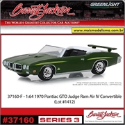 1970 - Pontiac GTO Judge - Greenlight Barrett-Jackson - 1/64