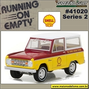 1967 - Ford Bronco SHELL - Greenlight - 1/64