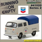 1974 - VW Kombi Cab Dupla CHEVRON - Greenlight - 1/64