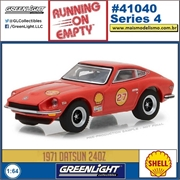 1971 - Datsun 240Z SHELL - Greenlight - 1/64