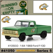 1969 - Ford F-100 Quaker State - Greenlight - 1/64
