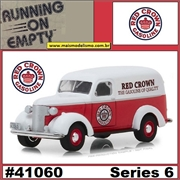 1939 - Chevrolet Panel Truck RED CROWN - Greenlight - 1/64