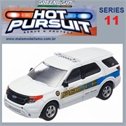 HP 11 - 2012 Ford POLICE INTERCEPTOR Utility - Greenlight - 1/64