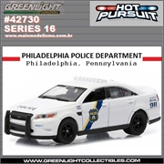 HP 16 - 2012 Ford Police Interceptor PHILADELPHIA - Greenlight - 1/64