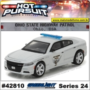HP 24 - 2016 Dodge Charger Ohio Police - Greenlight - 1/64