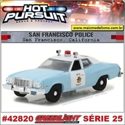 HP 25 - 1974 Ford Torino San Francisco Police - Greenlight - 1/64