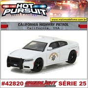 HP 25 - 2016 Dodge Charger California Highway Patrol - Greenlight - 1/64