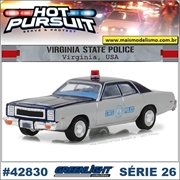 HP 26 - 1978 Plymouth Fury Virginia Police - Greenlight - 1/64