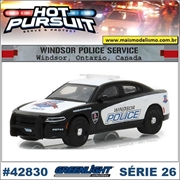 HP 26 - 2017 Dodge Charger Windsor Police - Greenlight - 1/64