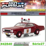 HP 27 - 1978 Plymouth Fury Minnesota State Police - Greenlight - 1/64