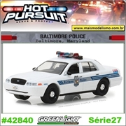 HP 27 - 2008 Ford Crown Victoria Baltimore Police - Greenlight - 1/64