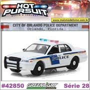 HP 28 - 2010 Ford Crown Victoria Orlando Police - Greenlight - 1/64