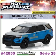 HP 28 - 2016 Ford Utility Georgia State Patrol - Greenlight - 1/64