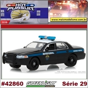 HP 29 - 2001 Ford Crown Victoria Montana Highway Patrol - Greenlight - 1/64