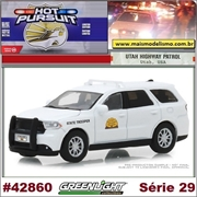 HP 29 - 2017 Dodge Durango UTAH Highway Patrol - Greenlight - 1/64
