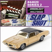 GL HOLLYWOOD  2 - REGGIES Pontiac GTO - Greenlight - 1/64